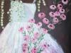2e bruidsjurk kl